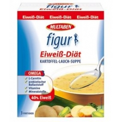 Figur Eiweiss Diat Suppe 40% Různé příchutě 180g