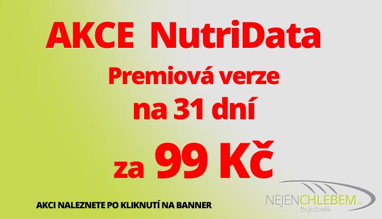 Akce NutriData na 31 dní