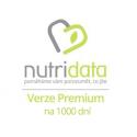 1000 dní premiové verze WK na NutriData.cz