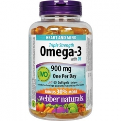 WN Omega 3 s vitaminem D 65cps