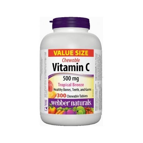 WN Vitamín C 500mg žvýkací tablety 300tbl