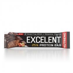 EXCELENT Protein Bar čokoládová s oříšky v pravé mléčné čokoládě 85g