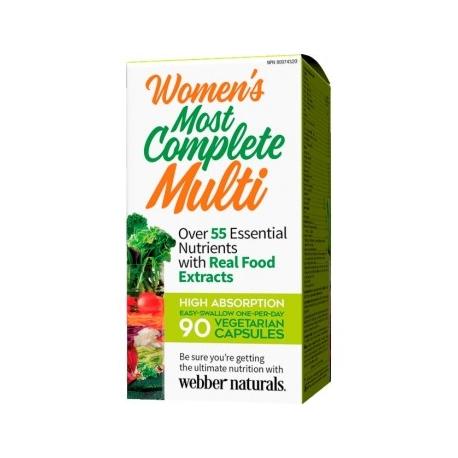 Webber Naturals Kompletní Multi pro ženy 90cps