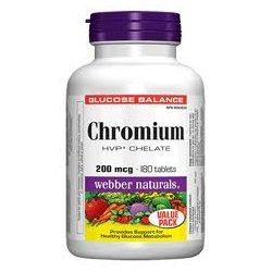 WN Chromium Chelate 200mcg HVP 60tbl