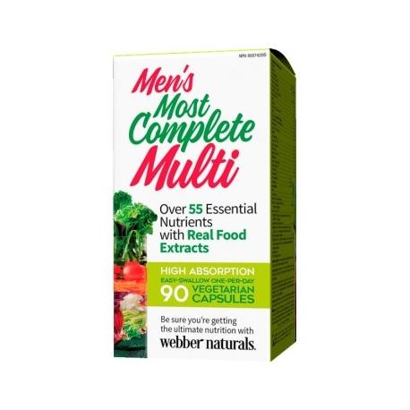 Webber Naturals Kompletní Multi pro muže 90cps