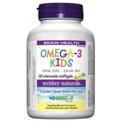WN Omega-3 pro děti s pomerančovou příchutí 120cps