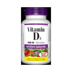 WN Vitamín D3 400IU 180tbl