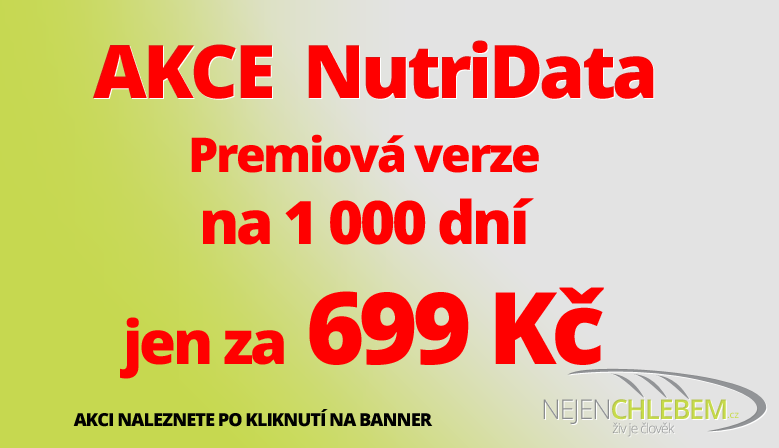 AKCE 1000 dní NutriData